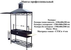 Основные виды мангала