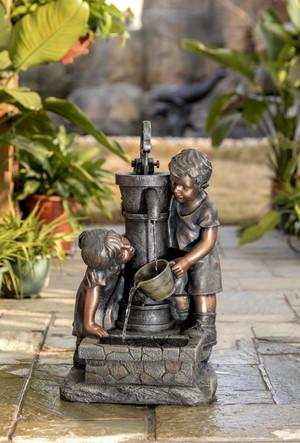 Комнатный мини фонтан