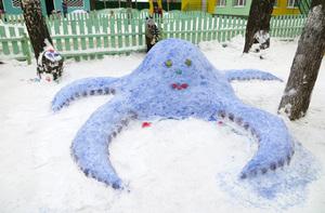Фигурки из снега своими руками фото 279