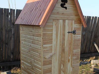 Уличный туалет своими руками: постройка, вентиляция