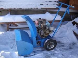 Снегоуборочная машина своими руками