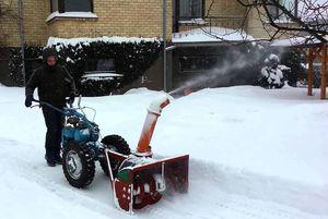 Самодельный шнековый снегоуборщик своими руками