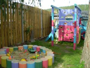 Детская дачная площадка своими руками фото 600