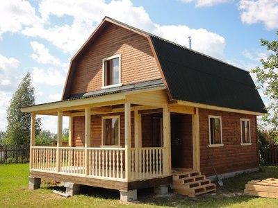 Дом 6 на 6: планировка и проект помещения, мансарда