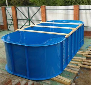 Форма и размеры бассейнов