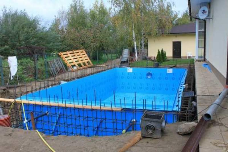Как установить на даче бассейн