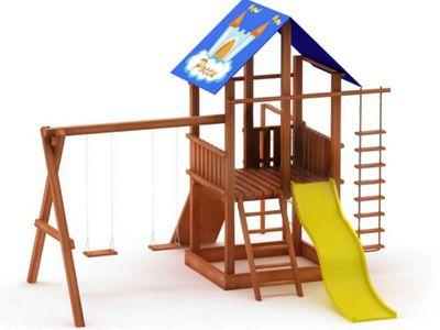 Как соорудить игровой комплекс для детей на дачу