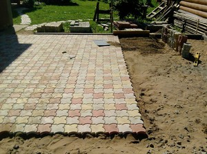 Брусчатка: тротуарная плитка
