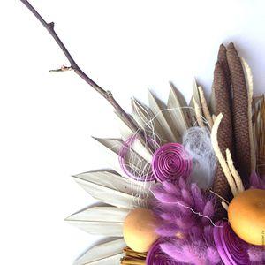 Виды растений и цветов для сухого букета