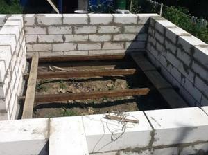 Этапы строительства бани