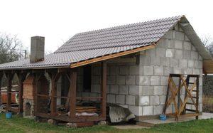 Обустройство крыши бани