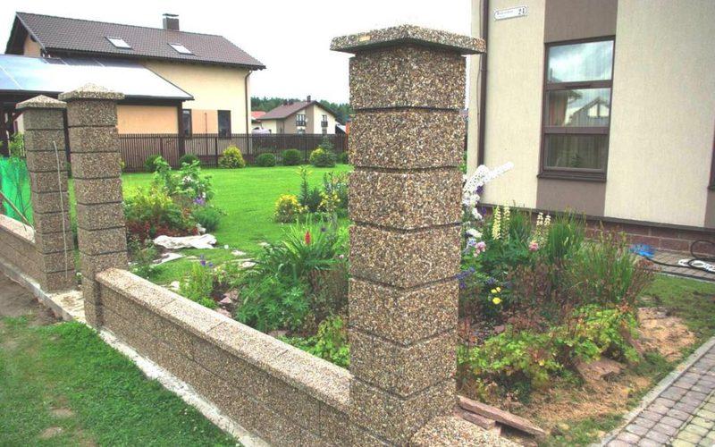 Преимущества бетонных столбов