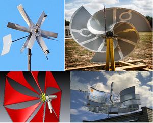 Принцип работы ветряной мельницы
