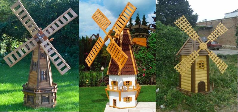 Как работает ветряная мельница